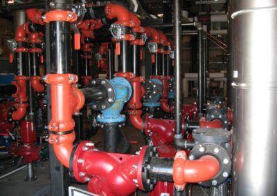 Mills High School Hvac Piping And Controls