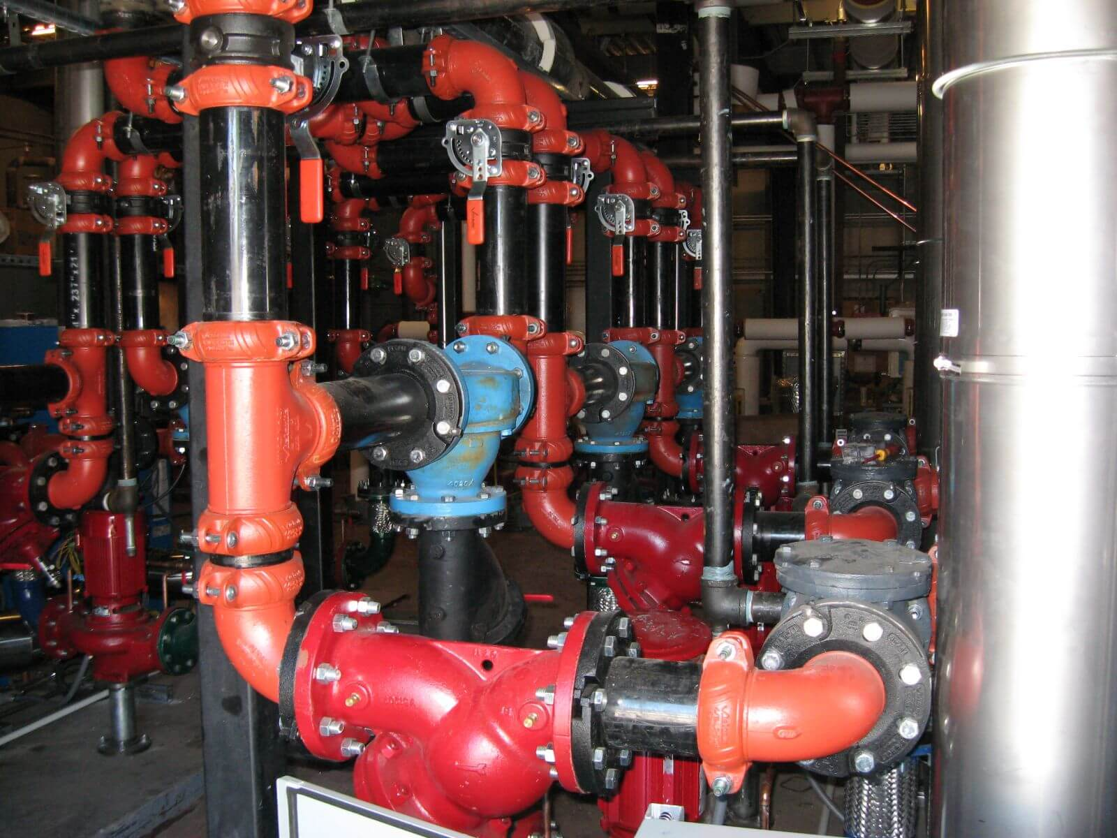 Mills High School Hvac Piping And Controls - Dowdle & Sons Mechanical